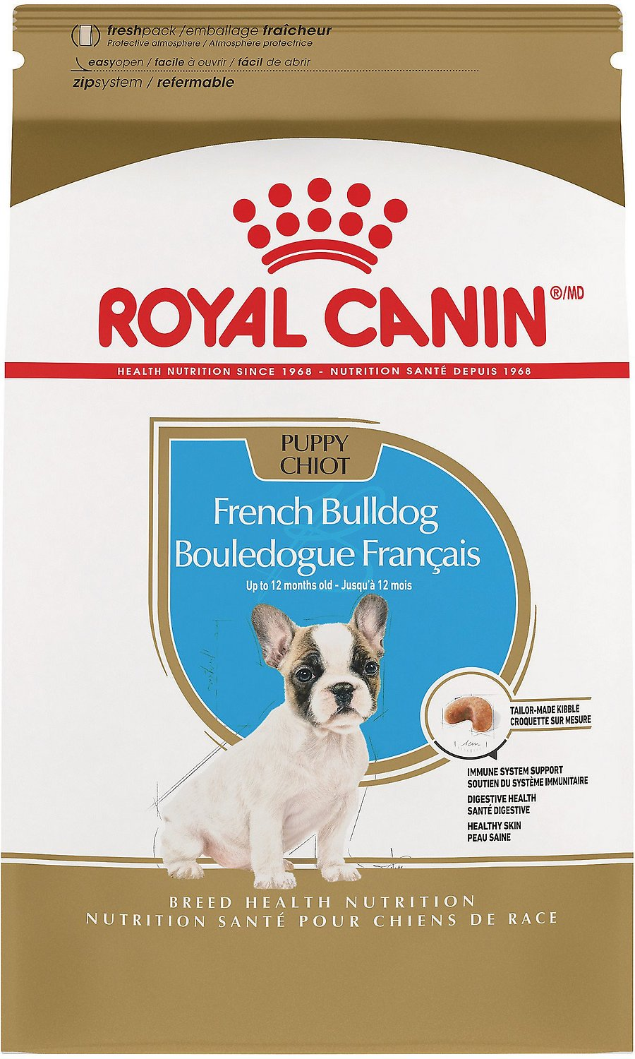 Royal canin french bulldog puppy dry dog food 3 lb bag chewy roll over image to zoom in nvjuhfo Choice Image