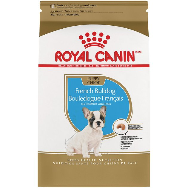 royal canin french bulldog puppy dry dog food 3 lb bag. Black Bedroom Furniture Sets. Home Design Ideas
