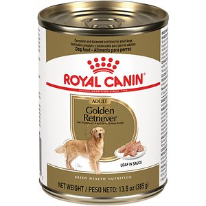 Royal Canin Golden Retriever Loaf in Sauce Canned Dog Food, 13.5-oz, case of 12