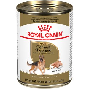 Royal Canin German Shepherd Loaf in Sauce Canned Dog Food, 13.5-oz, case of 12