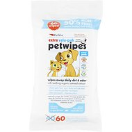 Petkin Petwipes Vanilla & Coconut Valu-Pak Dog & Cat Wipes, 60 count