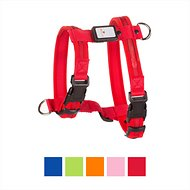 Nite Beams LED Rechargeable Dog Harness, Red, Small