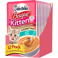 Hartz Delectables Bisque Tuna Lickable Kitten Treat, 1.4-oz, Case of 12