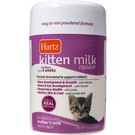 Hartz Kitten Milk Replacer Powdered Formula, 11-oz jar