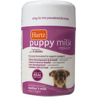 Hartz Puppy Milk Replacer Powdered Formula, 12-oz jar