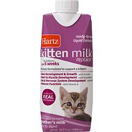 Hartz Kitten Milk Replacer Liquid, 16.9-oz bottle