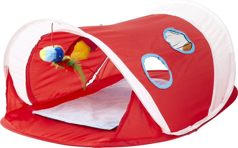 hartz-just-for-cats-peek-&-play-pop-up-tent-cat-toy by hartz