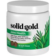 Solid Gold Supplements Joint Health Soft Chews Dog Grain-Free Dog Supplement, 90 count