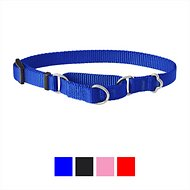 Frisco Solid Martingale Dog Collar, Blue, X-Small