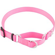 Frisco Solid Martingale Dog Collar, Pink, Large