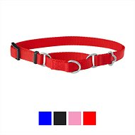 Frisco Solid Martingale Dog Collar, Red, X-Small