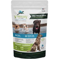 Valiant Pet Nutrition Raw Freeze-Dried Beef Recipe Medallions Adult Dog Food, 5.5-oz bag