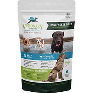 Visionary Pet Foods Raw Freeze-Dried Beef Recipe Medallions Adult Dog Food, 15-oz bag