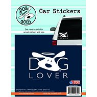 "Dog is Good ""Dog Lover"" Car Sticker"