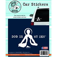 "Dog is Good ""Dog Is My Zen"" Car Sticker"