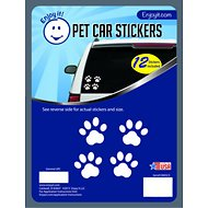 Enjoy It Pet Paw Car Stickers, 12 count
