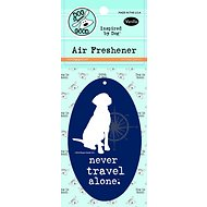 "Dog is Good ""Never Travel Alone"" Air Freshener, Vanilla"