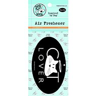 "Dog is Good ""Cat Lover"" Air Freshener, Vanilla"