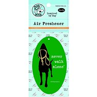 "Dog is Good ""Never Walk Alone"" Air Freshener, Vanilla"