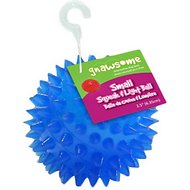 Gnawsome Squeak & Light LED Ball Dog Toy, Color Varies, Small