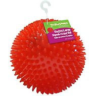 Gnawsome Squeak & Light LED Ball Dog Toy, Color Varies, Large