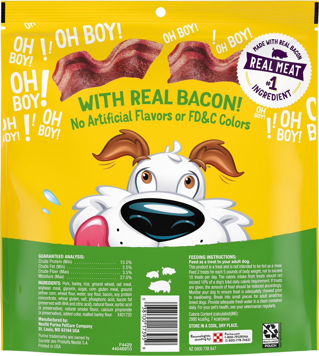Beggin Littles Bacon Flavor Small Dog Treats 25 Oz Bag Chewy Com