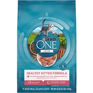 Purina ONE Healthy Kitten Formula Dry Cat Food, 3.5-lb bag