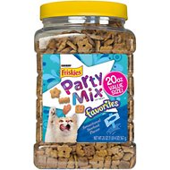 Friskies Party Mix Favorites Sensational Seafood Flavor Dry Cat Treats, 20-oz jar