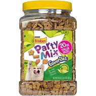 Friskies Party Mix Favorites Terrific Turkey Flavor Dry Cat Treats, 20-oz jar