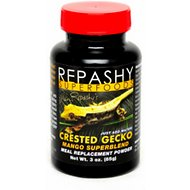 Repashy Superfoods Crested Gecko Mango Superblend Meal Replacement Powder Reptile Food, 3-oz bottle
