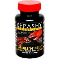 Repashy Superfoods Grubs 'N' Fruit Meal Replacement Powder Crested Gecko Food, 3-oz bottle