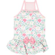 Frisco Floral Dog Sundress, Pink, Medium