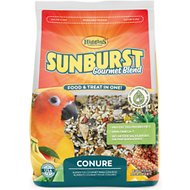 Higgins Sunburst Gourmet Blend Conure Bird Food, 3-lb bag