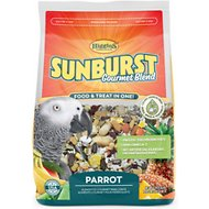 Higgins Sunburst Gourmet Blend Parrot Bird Food, 3-lb bag