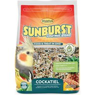 Higgins Sunburst Gourmet Blend Cockatiel Bird Food, 3-lb bag