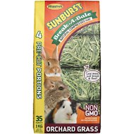 Higgins Sunburst Break-A-Bale Orchard Grass, 35-oz bag