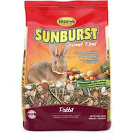 Higgins Sunburst Gourmet Blend Rabbit Food, 3-lb bag