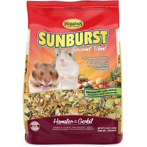 Higgins Sunburst Gourmet Food Mix Hamster Food
