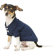 Frisco Classic Dog Polo Shirt, Navy, X-Small