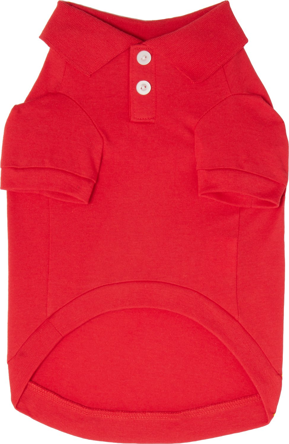 Frisco Classic Dog Polo Shirt Red Medium Chewy
