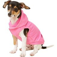 Frisco French Terry Heather Lightweight Hoodie, Pink, X-Small