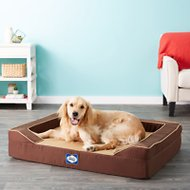 Sealy Lux Premium Orthopedic Dog Bed, Brown, Large