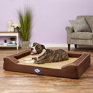 Sealy Lux Premium Orthopedic Dog Bed, Brown, X-Large