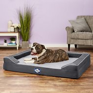 Sealy Lux Premium Orthopedic Dog Bed, Grey, X-Large