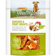 Ruffin' It Healthfuls Chicken & Fruit Wraps Dog Treats, 16-oz bag