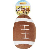 Ruffin' It Plush Sports Ball Dog Toy, Sports Ball Varies