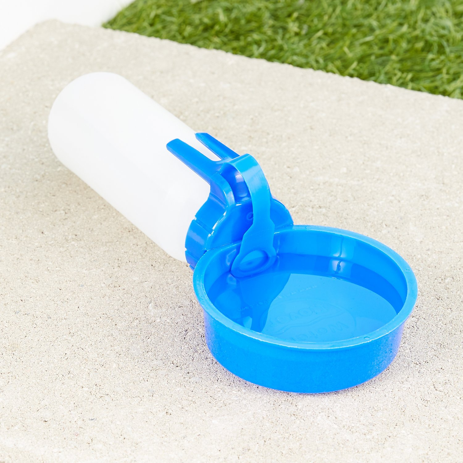 Water Rover Portable Pet Dog Drinking Bowl: Water Rover Portable Dog & Cat Water Bottle & Bowl, Dark