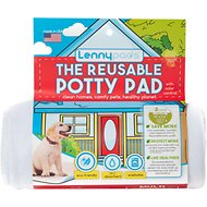 Lennypads Ultra Absorbent Washable Dog Pads, White, Medium, 2 Count