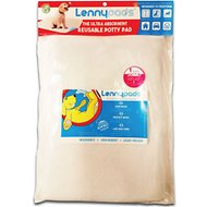 Lennypads Ultra Absorbent Washable Dog Pads, White, Jumbo, 1 Count