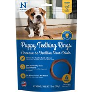 N-Bone Puppy Teething Ring Chicken Flavor Dog Treats, 6 count